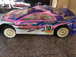 Rc car with lots of extras