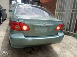 Toyota Corolla 2005model