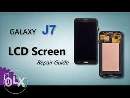 Samsung J7,5, & A7,5 top/outer glass replacement.