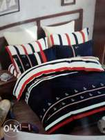 Warm cotton 5*6 /6by6 with matching bed sheet and 2pillow cases