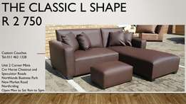 The Affordable Classic L-Shape only R3250!!!
