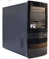 clean HP Compaq desktop dx 7500 tower 2gb 160gb dvd writer. Mombasa Island - image 4