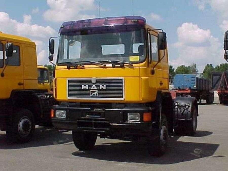 MAN 19.422 - 4x4 - 1992