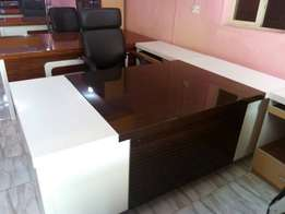 Office table 1.6meter with extension mobile drawer