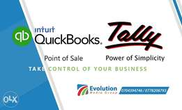 Tally and QuickBooks software for sale