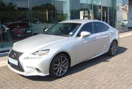 LEXUS IS350 F-Sport 2016, Silver with 19500km