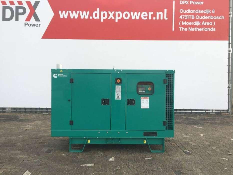 Cummins C44 D5e - 44 kVA Generator - DPX-18505 - 2019