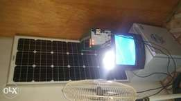 All in one solar kit