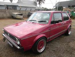 Volkswagen MK1 Rabbit golf coupe for R35,000