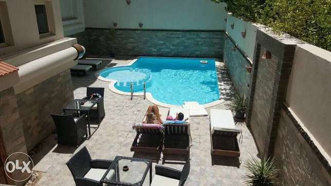 2 BR luxurious Suite in a luxurious compound directly on Mamsha الغردقة -  7