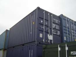 Good dry unit with good doors Container