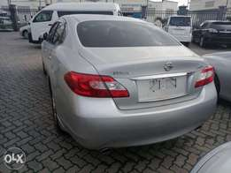 Nissan Fuga. Silver with light n Dark leathered interior KCN number
