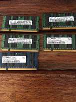 DDR 2 Laptop Ram 2GB's
