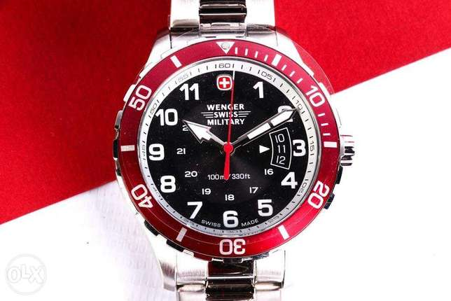 NEW Wenger Swiss Military Classic Executive Sport Watch 79316