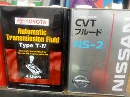 All types of car ATF,nissan,toyota,honda