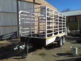 Cattle trailers,towing trailers,mobile kitchen for sale
