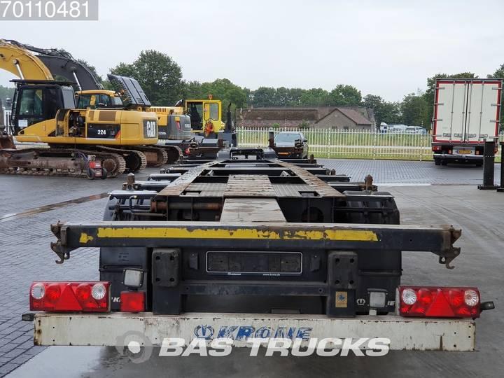 Krone 2x20-1x30-1x40ft. 3 axles Ausziehbar Extending Chassis - 2012 - image 6