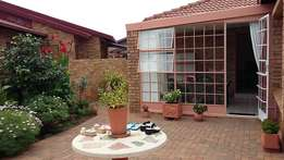 Beautiful secure face brick Town-House and neat as a pin - Randfontein