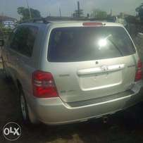 Toks Toyota Highlander 2003. Very OK