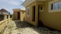 New 3 bedroom plus a BQ for rent in Apo resettlement zone E