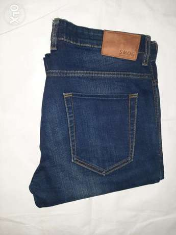 SMOG jeans 34/32 slim from England.