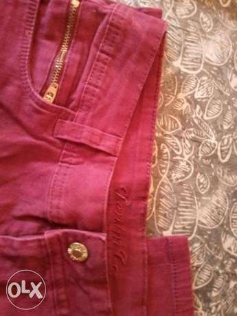 Pants for girl, size 11-12, cotton