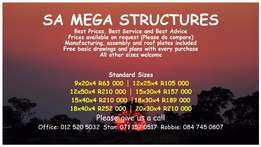 Steel Structures for Sale - Best Price, Best Advice63000