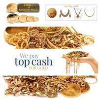 Wanted gold Jewelry for cash