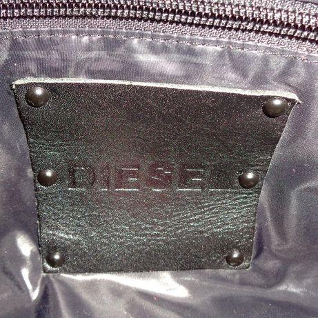 fe84b5c8bf69 Diesel Италия 100% кожа замша сумка женская кожаная сумочка клатч хобо Киев  - изображение 6