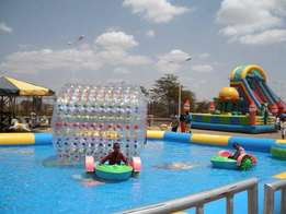 atractive inflatable water rollers