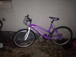 Ladies Pink 26inch mountain bike for sale - excellent condition