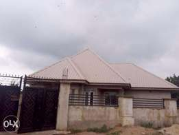 Completed 3 Bed Apartment with borehole, tiles and house fittings.