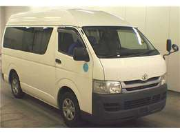 Toyota Hiace on offer