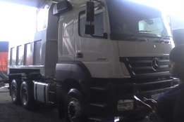 new bin new hydraulic on mercedes axor 10 cube tipper for sale hurry