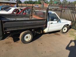 Isuzu bakkie for stripping