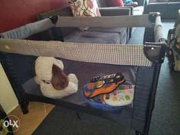 Baby Car seat and a play pen/day bed