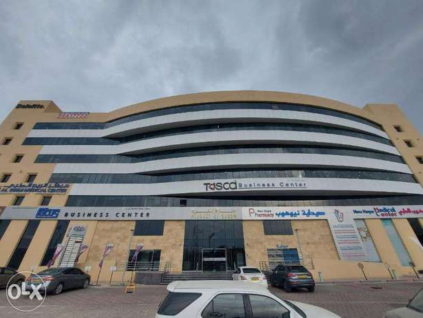 Modern Office Space available in Focus Business Center Qurum FOR RENT