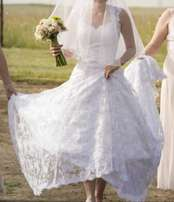 Beautiful Luna Novias wedding dress