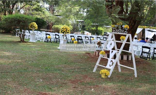 Hexagon tent, Foldable Chairs, Chiavari and Decor Services Westlands - image 7