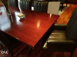 Boardroom Table and Chairs for Sale!