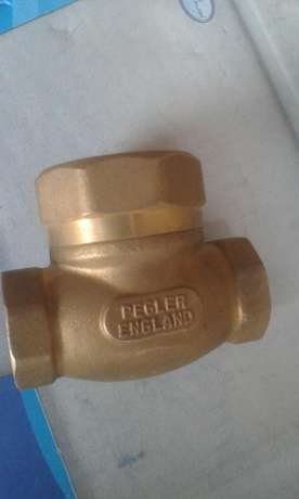 "Non Return Flap Pegler Valve 1/2"" to 2"" Kikuyu T-Ship - image 2"