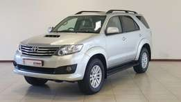 2013 Fortuner 4x4 3.0 Silver