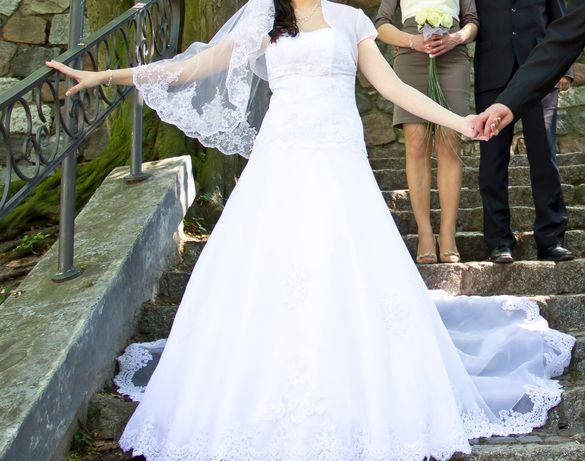 73f17193e0 Suknia ślubna CELISE z kołem