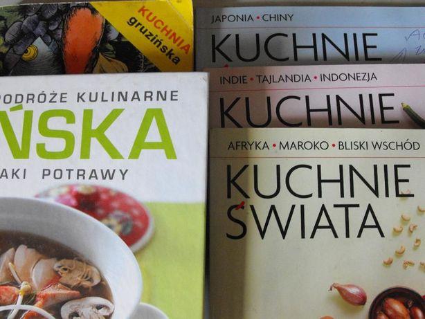 Książki Kulinarne Szt 5 Kuchnie świata Legnica Olxpl