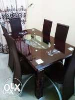 Brand New Dining Table And Six Strong Chairs