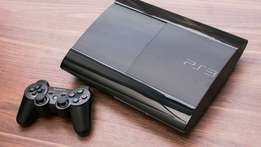 Sony PlayStation PS3 Super Slim & Fifa 14, Assassins Creed, The Fight.