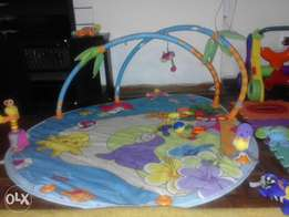 A darling play mat for your little one.