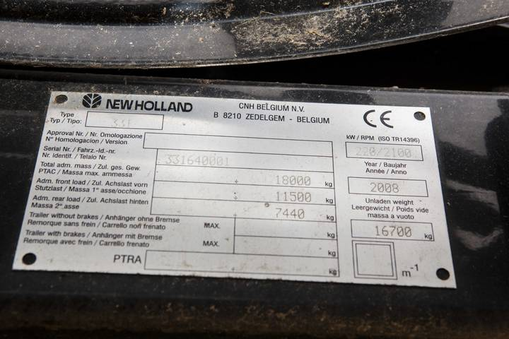 New Holland CX 8060 - 2008 - image 10