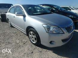 Toyota Premio Year 2010 Model Automatic transmission Silver Color KCN