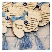 Invitations and giveaways